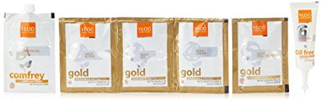 VLCC Natural Sciences Gold Facial Kit Review
