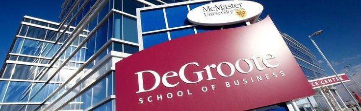 McMaster University Degroote School of Business