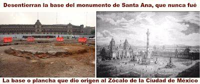Blog de palma2mex : El Zócalo de la Ciudad de México y su origen