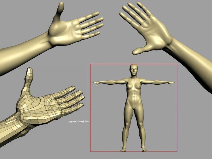 Psyche – Character modeling studies (Part 4) - Autodesk Community