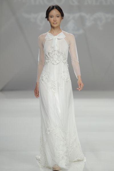 Vestidos de novia con cintas y lazos 2017: 30 diseños llenos de romanticismo Image: 23