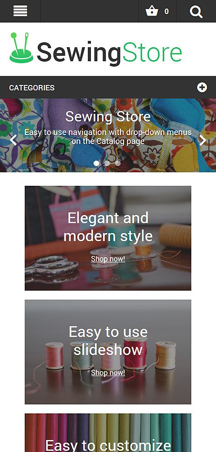 Hobbies & Crafts website inspirations at your coffee break? Browse for more Magento #templates! // Regular price: $179 // Sources available: .PSD, .XML, .PHTML, .CSS #MostPopular #Hobbies #Crafts #Magento