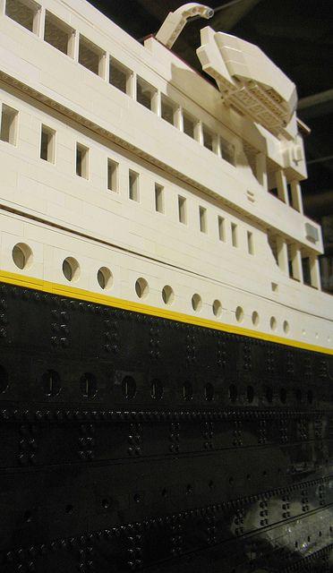 "LEGO Model RMS ""Titanic"" - Work in Progress | Flickr - Photo Sharing!"