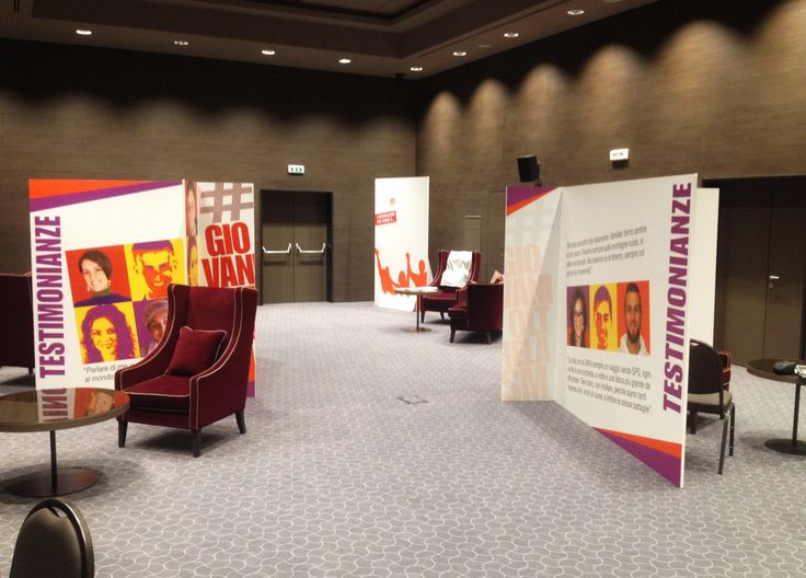 AISM Convegno Giovani, Roma -  Personalizzazione spazio incontro
