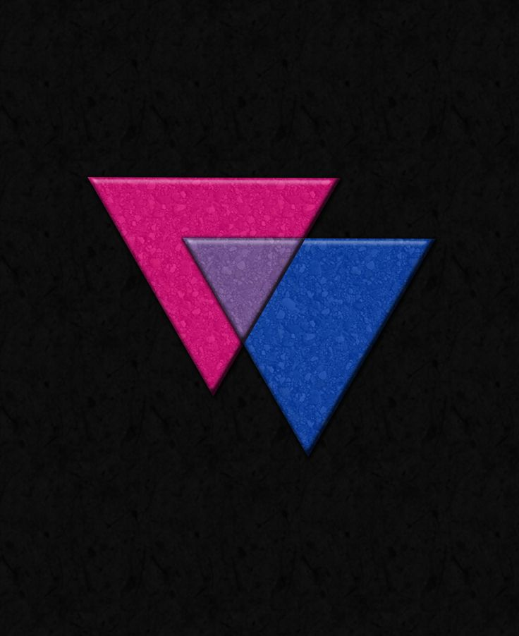Bisexual Pride Triangles in Pride flag colors.	Click to view Merchandise Available on Zazzle.	  For Free Personalization please contact me at - love.life.3984@gmail.com