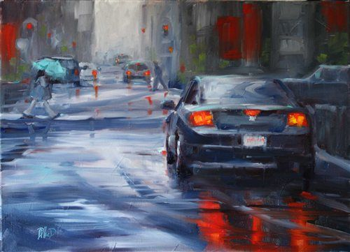 Urban Painting sold