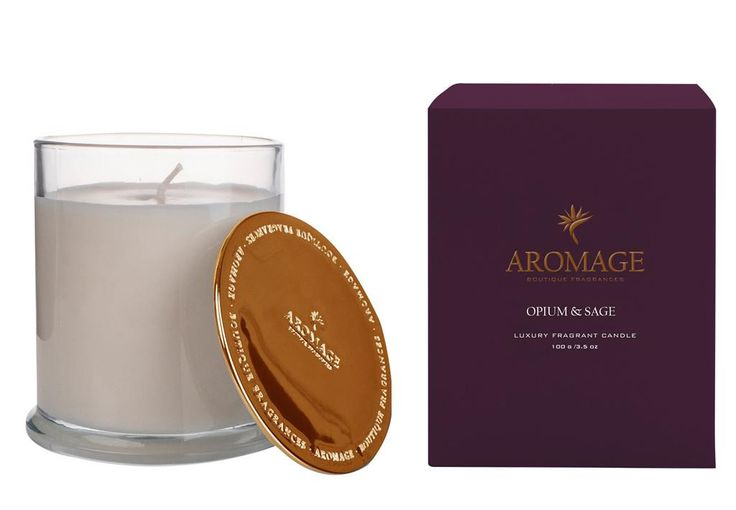 Aromage Luxury Fragrant Candle - Opium & Sage - 100g  #Luxury #reed #Bestprices #thefragranceroom #madeinaustralia #diffuser #soy #sale #oils #candles