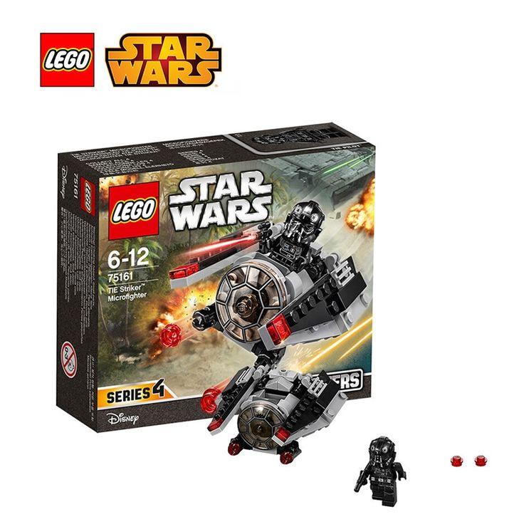 17.84$  Buy now - http://alil22.shopchina.info/go.php?t=32807472341 - Lego Star Wars TIE Striker Microfighter Architecture Building Blocks Model Kit Plate Lego Starwars Toys For Children Legc75161 17.84$ #magazineonline