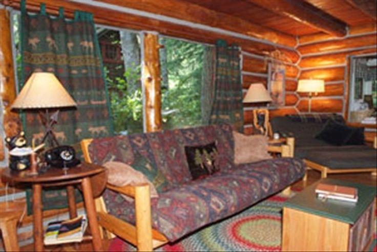 Romantic Steiner Log Cabin At Mt Hood Oregon 39 S Playground