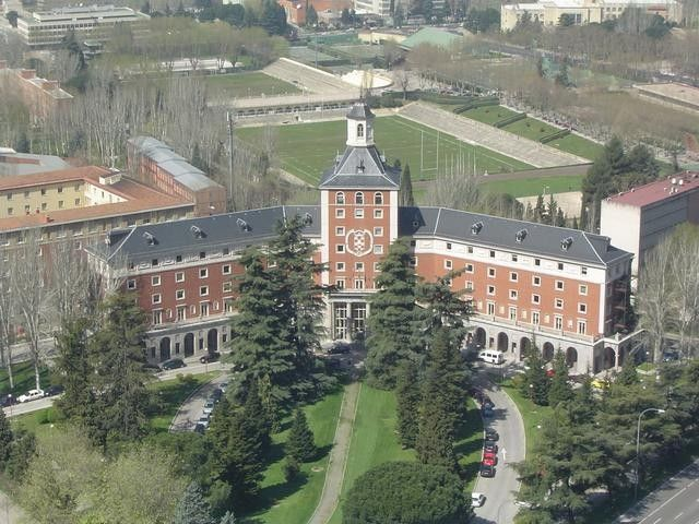 Universidad Complutense de Madrid-This is where my dad got his master