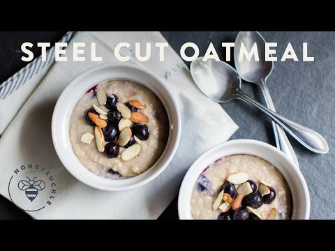How to Prepare Steel-Cut Oatmeal - Kitchen Conundrums with Thomas Joseph - YouTube
