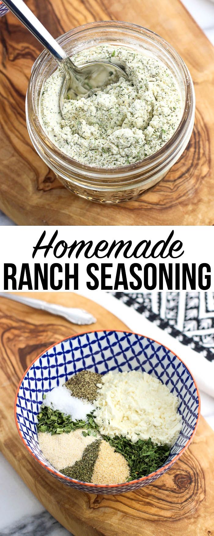 Ever Wonder How To Make Homemade Ranch Seasoning Dry Buttermilk Powder And Pantry Staple Herbs And Spi Homemade Ranch Seasoning Homemade Ranch Ranch Seasoning