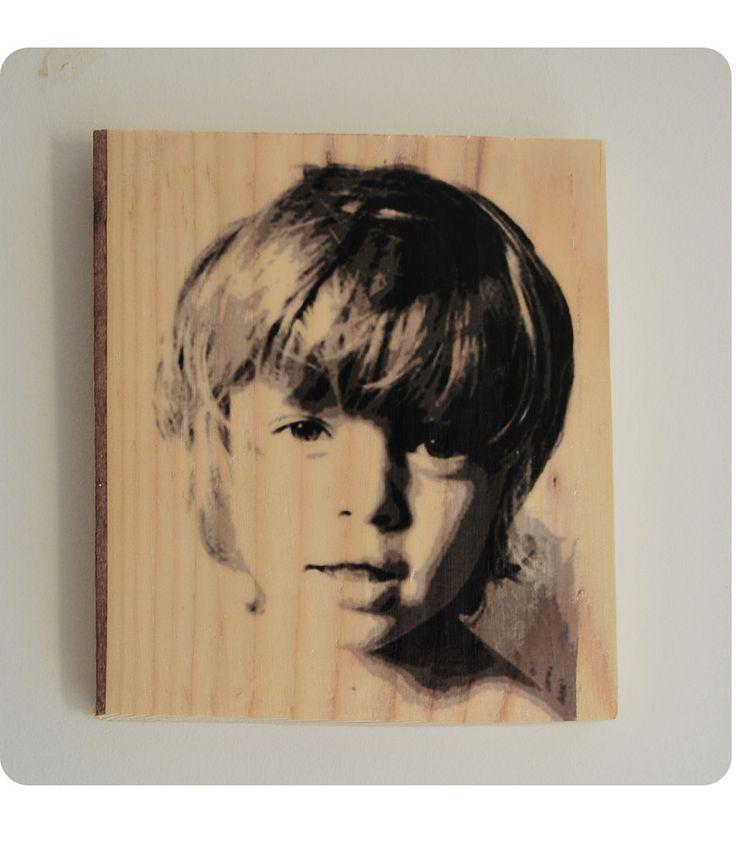 https://flic.kr/p/G4Xf3d | Photo transfer on wood