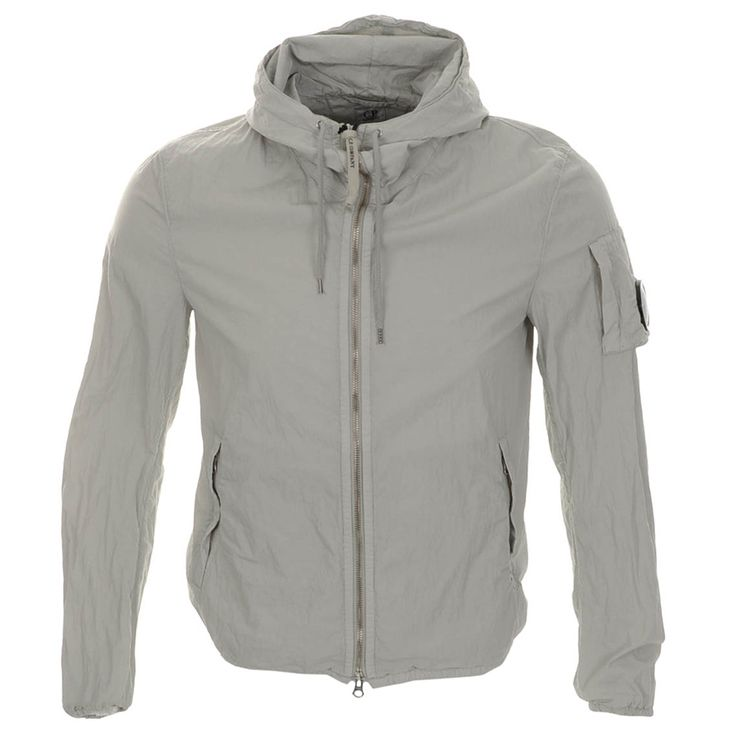 C P Company > CP Company Hooded Jacket Beige > CP Company Jackets & CP Company mens designer clothing @ Mainline Menswear stockists of C P Company, Stone Island, Evisu, Armani, Hugo Boss, G Star, Diesel, Adidas Originals, Hackett, Ralph Lauren mens designer clothes online UK