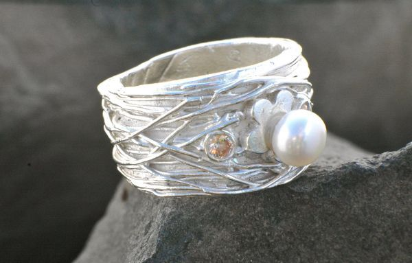 Workshop Art Clay Silver. Make your own Silver ring in one day! #AbJewels