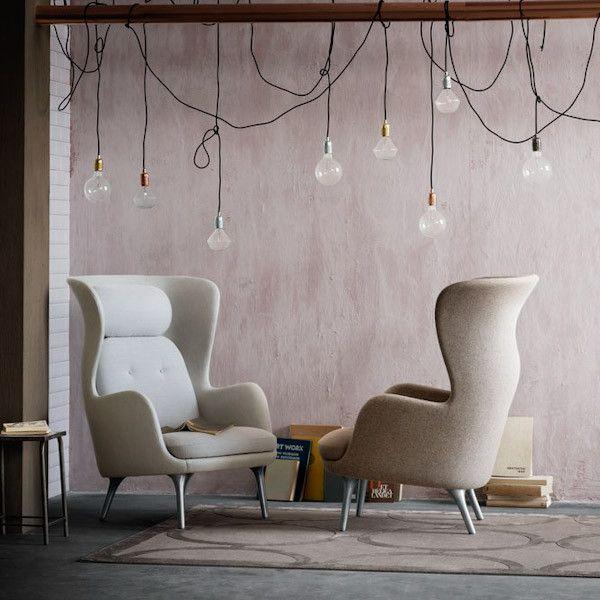 25+ Best Ideas About Ohrensessel Leder On Pinterest ... Design Relaxsessel Holz Carl Hansen