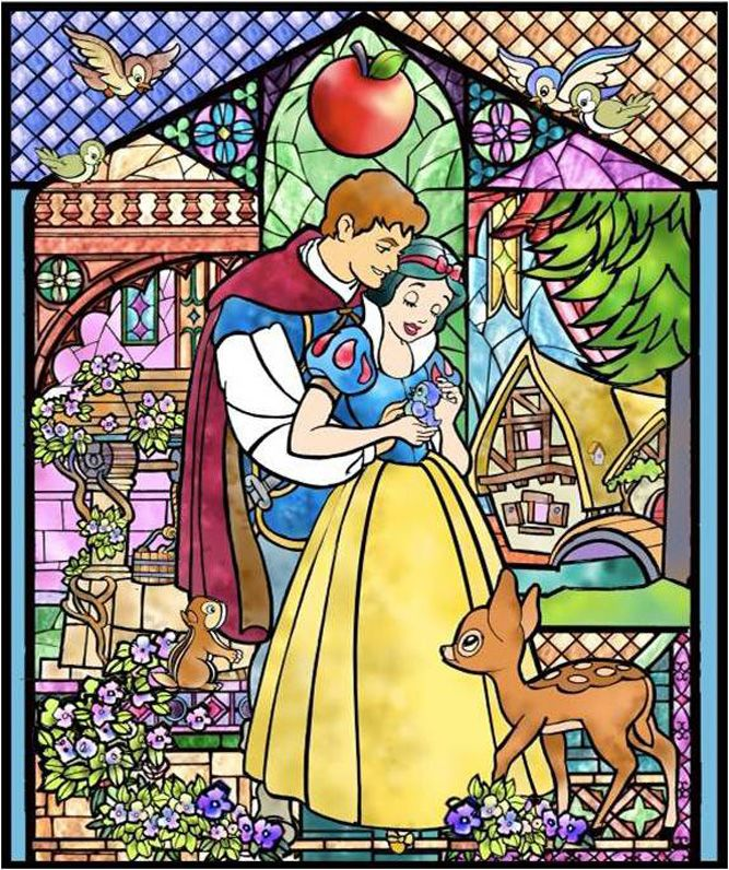 Vitral - Branca de Neve - The Magic, The Memories and You