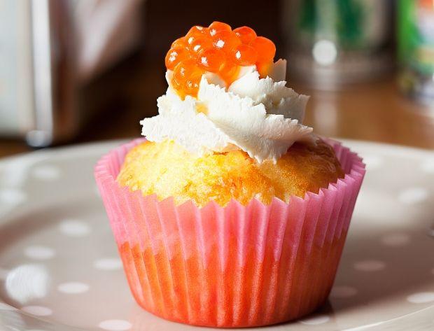 Cupcakes au saumon fumé Voir la recette des Cupcakes au saumon fumé
