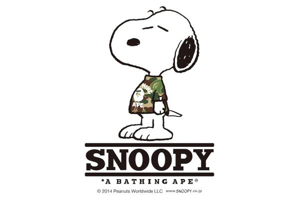 Peanuts x A Bathing Ape 2014 Fall/Winter Collection