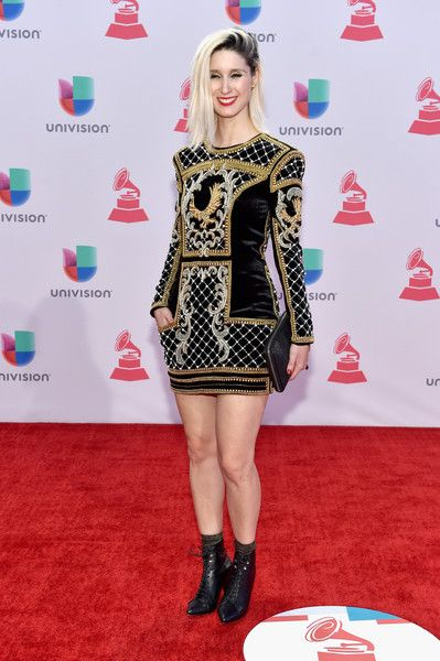 Singer Francisca Valenzuela attends the 16th Latin GRAMMY Awards at the MGM Grand Garden Arena on November 19, 2015 in Las Vegas, Nevada.