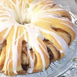 Swedish Tea Ring Allrecipes.com Just make one tea ring with dough. Add 1-2 T Cream Cheese to the frosting. You will not need all the filling.