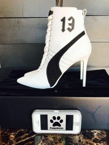 7f9066d598c Puma Fenty by Rihanna High Heel Leather White 363038-02 Women s Size 6.5-11