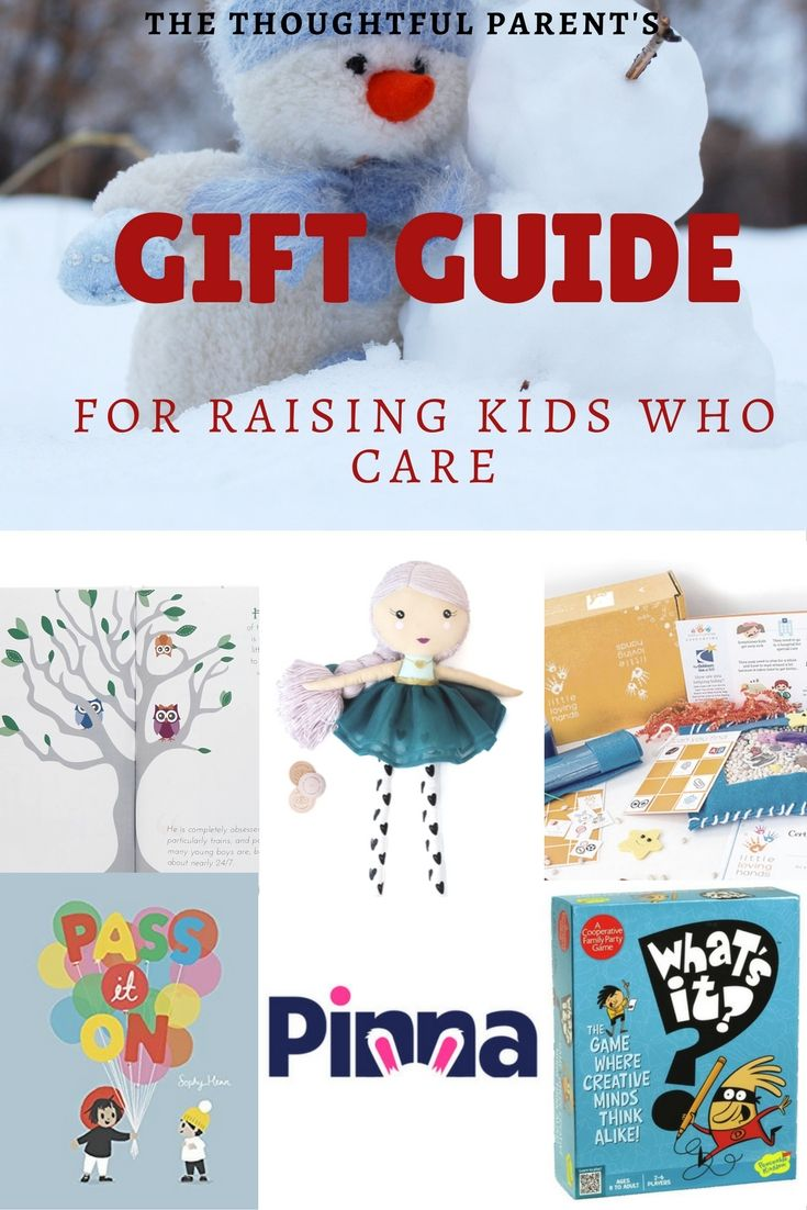 A gift guide unlike the others. This one focuses on gifts that promote social-emotional skills and caring among kids.