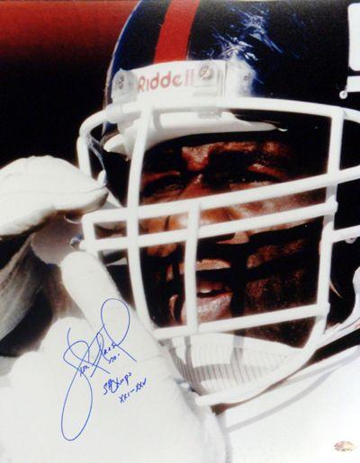 "Leonard Marshall Autographed 16x20 Photo New York Giants ""Super Bowl Champs XXI XXV"" Super Bowl PSA/DNA Stock"