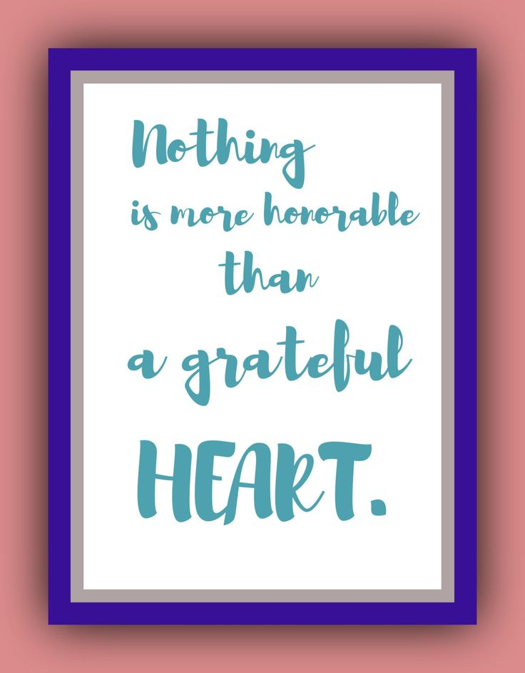 """Thanksgiving words: """"Nothing is more honorable than a grateful heart."""" Thanksgiving pictures. by CoinedWords on Etsy"""