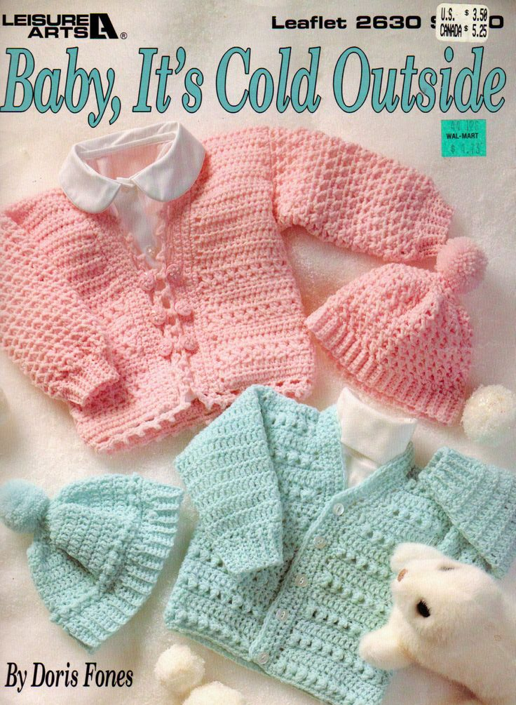 Baby It S Cold Outside Baby Sweaters And Hats To Crochet