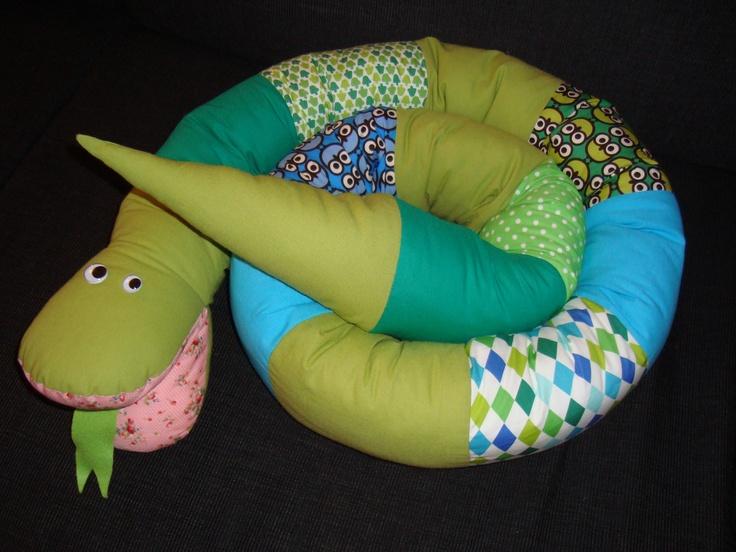 Green snake - 2,5 m