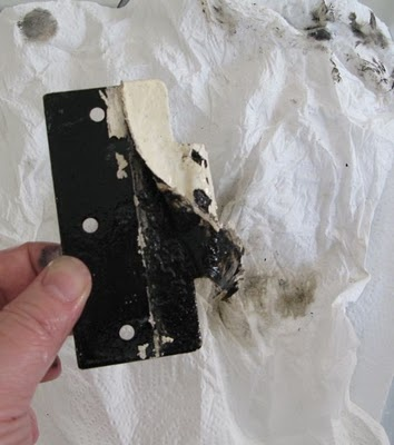 stripping paint off hardware without harsh chemicals