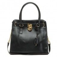 Michael Kors Saffiano Leather Hamilton Perforated Large NS Tote Bag Black $119.00  http://www.michaelkorsorder.com/