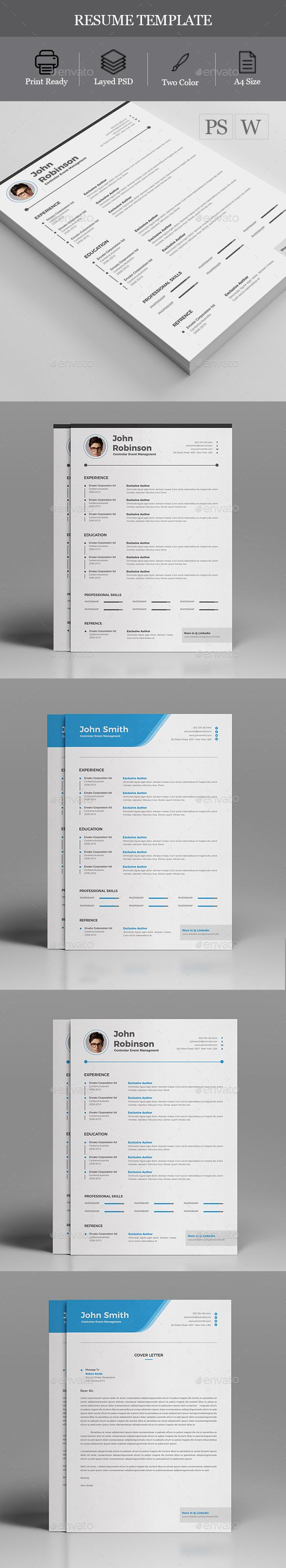 Resume - #Resumes Stationery Download here: https://graphicriver.net/item/resume/19744528?ref=alena994