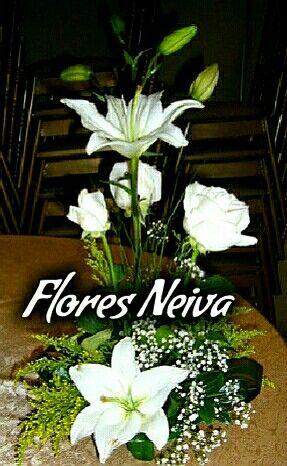 Hermosos centros mesa para tus reuniones....comunicate 3153335017....flores neiva