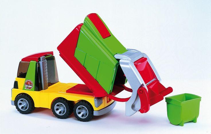 Vuilniswagen (20002), bruder ROADMAX - Voertuigen van de gemeentelijke dienstverlening | Bentoys.nl - https://www.bentoys.nl/nl/speelgoed/themas/verkeer-en-transport/gemeentelijke-dienstverlening/28-vuilniswagen.html #speelgoed #vuilniswagen #vuilnisauto