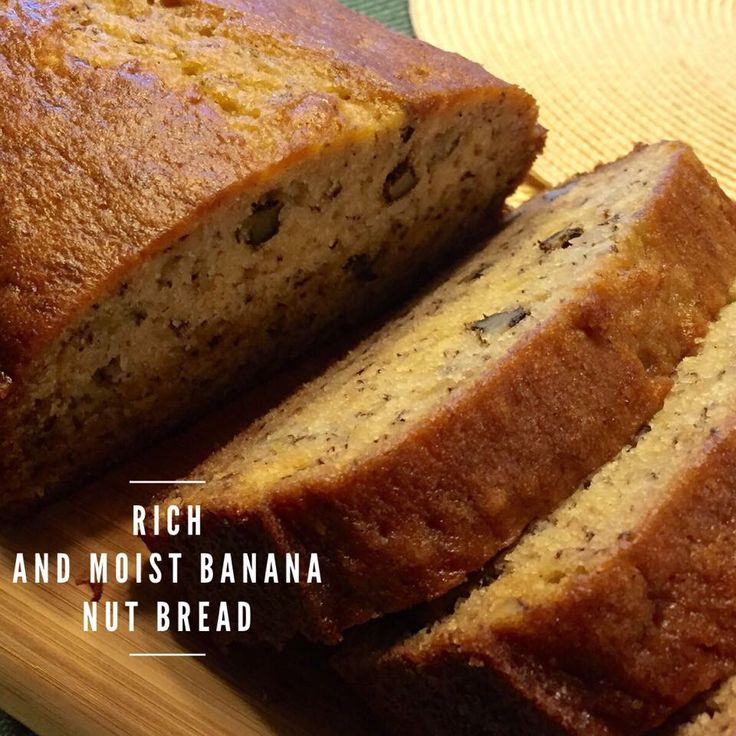 Rich and Moist Banana Bread. Over the years, i have been trying to ...