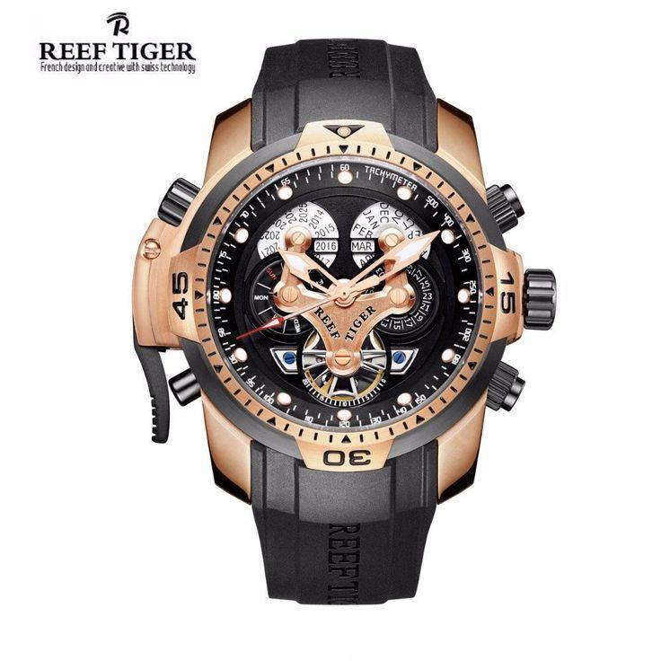 1000 ideas about designer watches for men louis reef tiger rt designer watches for men big dial complicated watch perpetual calendar rubber