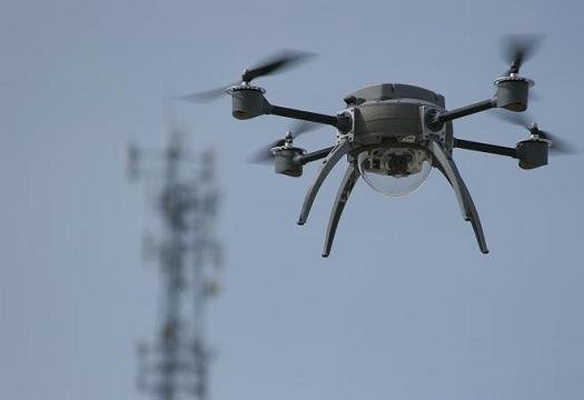 I so want one: Meet the Aeryon Scout Quadrotor.