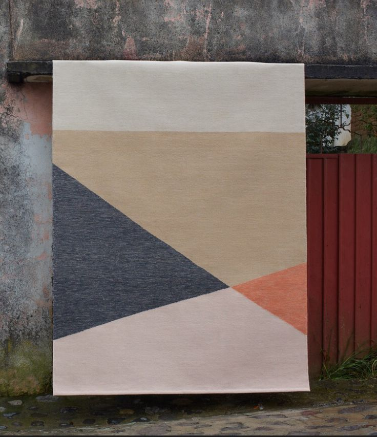 Have fun creating a rug from the Marle Collection with three dynamic designs to choose from: Tuck, Fold and Pleat | See more from www.armadillo-co.com