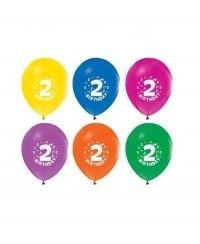 2 Yaş Karışık Balon (20 Adet)