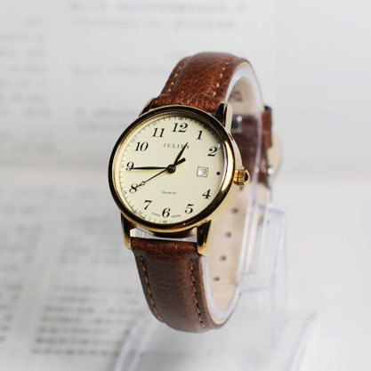 Couples watch, Personalized Watch,Wrist watch, Women Watch, Leather Watch ,Birthday gift, special gift    Type: Quartz  Material: Glass  Case