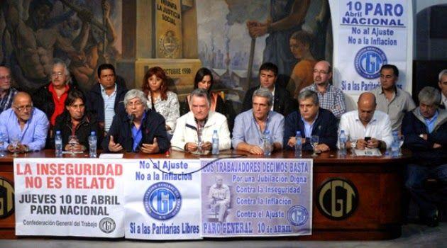 PARO DE LA CGT ARGENTINA ORIGINÓ GRAN CAOS VEHICULAR Y DE TRANSPORTE EN BUENOS AIRES