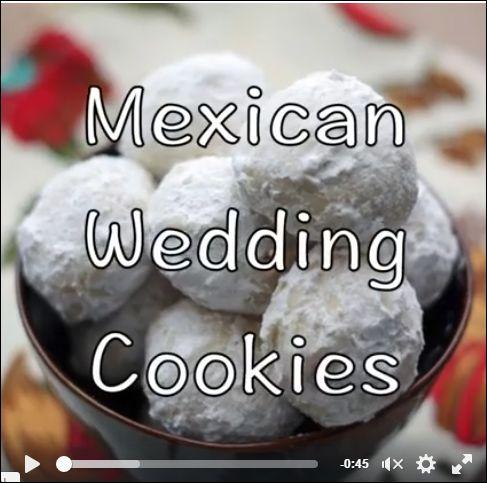 Mexican Wedding Cookies, Russian Tea Cakes, Sugar Butter Balls ...