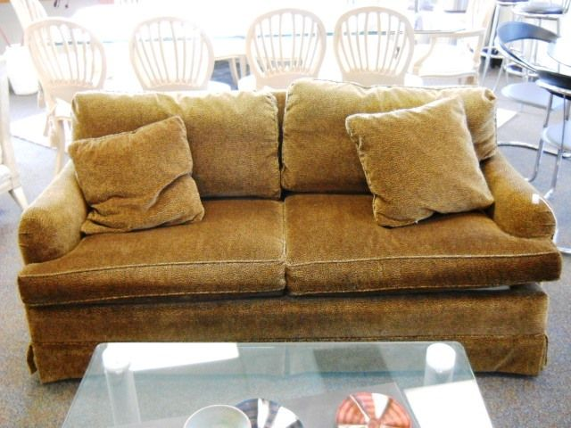 Lovely Baker Leopard Sofa, Located In Boca Raton, Florida  Www.;pastperfectconsignment.com
