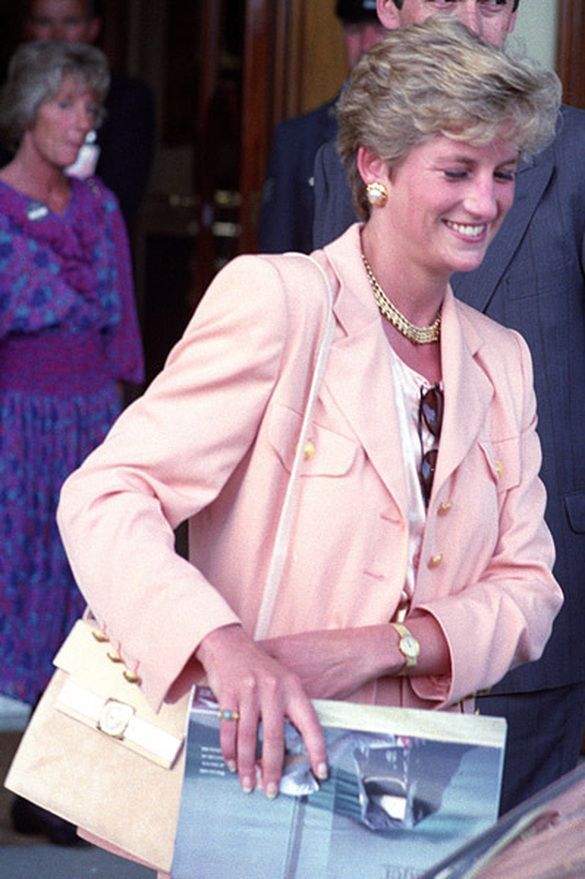 On Sunday July 4th in 1993, Princess Diana and her mother Frances attended the Men's Singles Final at Wimbledon between Pete Sampras and Jim Courier.