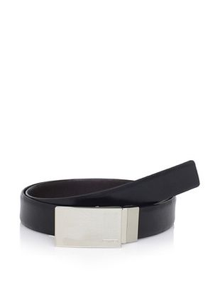 40% OFF Calvin Klein Men's Reversible Plaque Buckle Belt (Brown/Black)