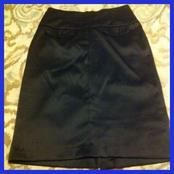 High waisted black skirt by Forever 21 Sleek high waisted black skirt! Like new condition Forever 21 Skirts