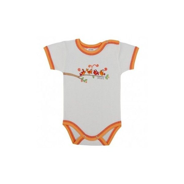 Body bebe cu maneca scurta, primavara /Basic, Fete, 15S/RKB052 | Scamp via Polyvore