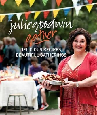 How to cook delicious recipes for large crowds, from the bestselling original Australian MasterChef, Julie Goodwin. Julie Goodwin's first cookbook, Our Family Table, was loved by many for its combination of simple and delicious recipes, and affectionate family stories. Her second book, The Heart of the Home, followed on from this, with more quick and easy family recipes and stories to bring together those she loves. Now, in her third cookbook, Gather, Julie turns her attention to cooking for…